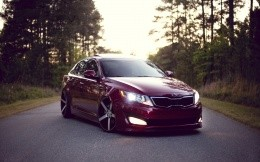 Tuning cars Kia Optima