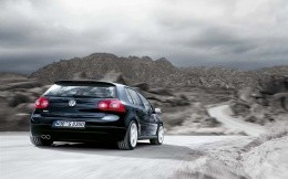 VW Golf GT, photo wallpaper