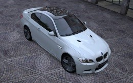 White car BMW M3 Coupe Wallpapers