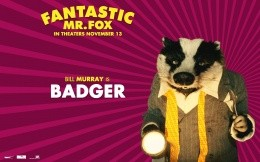Badger cartoon Fantastic Mr. Fox