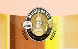 Beer Benderbrau of the cartoon Futurama