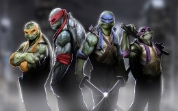 Teenage Mutant Ninja Turtles, all the heroes of comic book of the same name