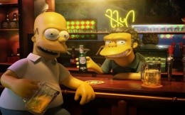 The Simpsons Bar