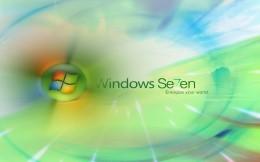 Branded desktop wallpaper Windows 7