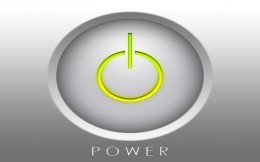 Button POWER - image for your desktop