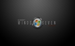 Wallpaper Microsoft Windows Seven: Ultimate.