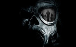 Gas mask, reminded the game Fallout