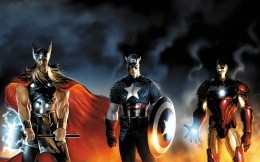 Super Power: Thor, Captain America and Iron Man