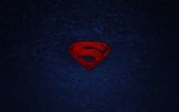 The logo of Superman