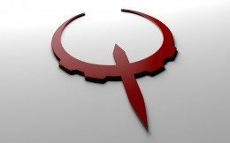 3D logo game Quake 4