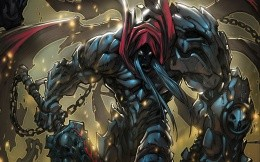 Art wallpaper on the game Darksiders