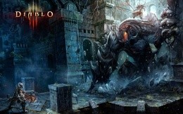 Barbarian against the boss, Diablo 3