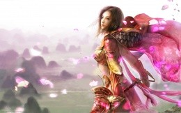 Beautiful girl from the game Legend of mir