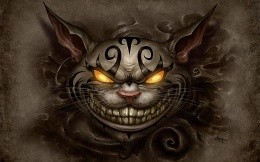 Game Alice Madness Returns, the wallpaper with Cheshire Cat