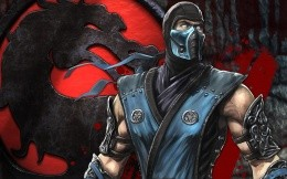 Hero of the game Mortal Combat - Sub Zero
