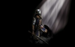 Knight of the game Dark Souls