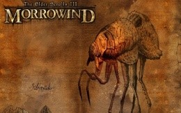 Morrowind - retro wallpaper