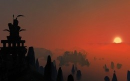 Morrowind - sunset