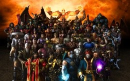 Mortal Kombat all the characters