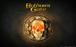 Retro wallpaper Baldur `s Gate
