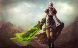 Riven Sword in the hands of the Warriors League of Legends