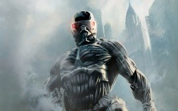 Saver on the game Crysis, photo wallpapers