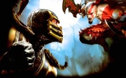 Scorpion from Mortal Combat vs. Kratos from God of War