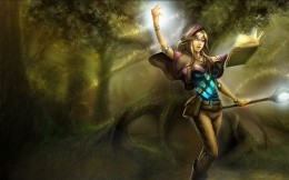 Sorceress of the League of Legends