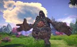 Spore walkers monster from the game T.E.R.A