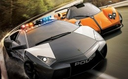 Wallpapers Need for speed: Hot Pursuit 2, Lamborghini VS Pagani
