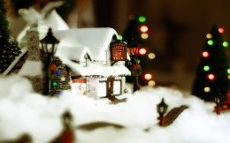 Christmas decoration - small house