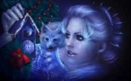 in anticipation of a winter fairy tale