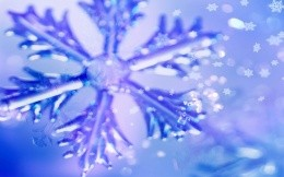 Snowflake Winter Christmas Wallpaper