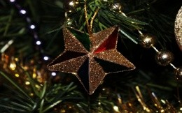 The star on the tree