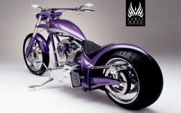 Harley purple