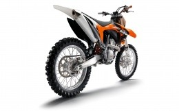 KTM motocross bike