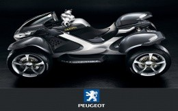 Quad bike Peugeot (Peugeot), wallpaper, ATVs, motorcycles.