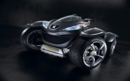 Quad bike Peugeot Quark, wallpaper, ATVs Peugeot