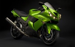 Sports bike Kawasaki ZZR 1400