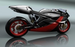 Super sports bike of the future, a super bike