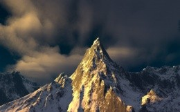 The majestic mountain