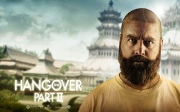 A man with a beard from the movie The Hangover 2