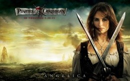 Angelica (Penelope Cruz) in the film Pirates of the Caribbean, On Stranger Tides