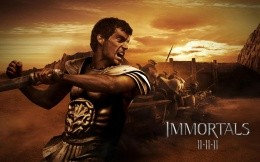 Art wallpapers for the new movie Immortals: Gods War