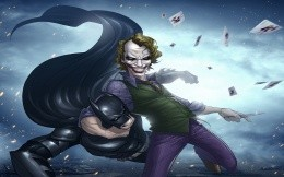 Batman in the hands of Poker (comics)