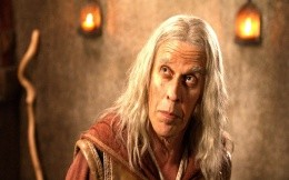 Bruce Spence, in the role of the magician in the movie Legend of the Seeker
