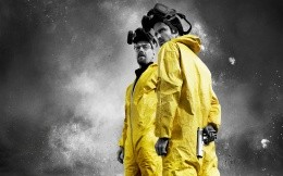 Bryan Cranston and Aaron Paul in Breaking Bad movie