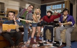 Characters of the series The Big Bang Theory - Sheldon, Leonard, Penny, Chernivtsi, Raj
