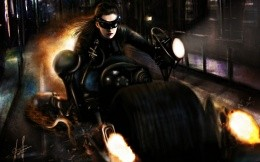Female cat from the movie The Dark Knight Rises