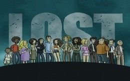 Kommicheskoe image characters of the series LOST: Lost
